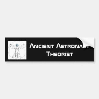 Ancient Astronaut Theorist  bumper sticker Car Bumper Sticker