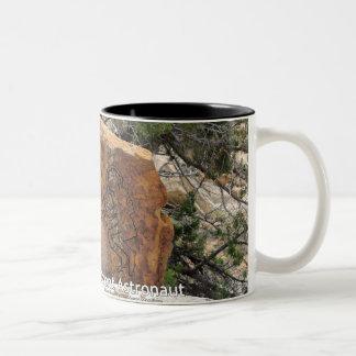 Ancient Astronaut Two-Tone Coffee Mug