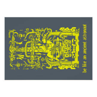 Ancient astronaut y poster