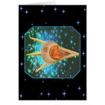Ancient Astronauts Greeting Card