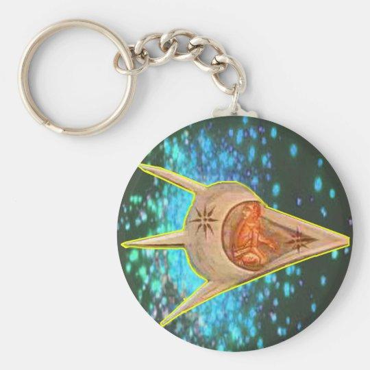 Ancient Astronauts Keychain