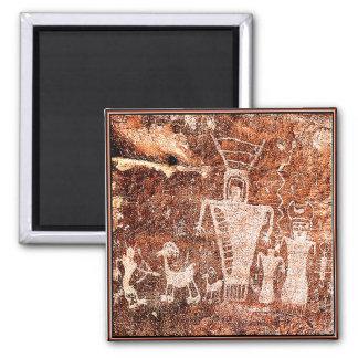 ANCIENT ASTRONAUTS FRIDGE MAGNET