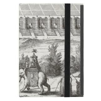 Ancient Babylon Iraq Noble Procession w/ Elephant Cover For iPad Mini