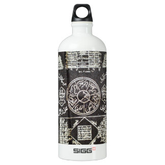 ANCIENT BLACK MAGIC SYMBOLS FOR GOOD LUCK ALUMINUM WATER BOTTLE