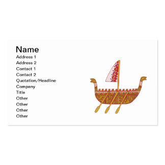 Ancient Boat Business Cards