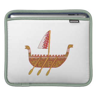 Ancient Boat Sleeves For iPads