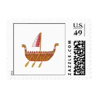 Ancient Boat Postage