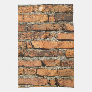 Ancient Brick Wall Kitchen Towel