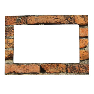 Ancient Brick Wall Magnetic Frame