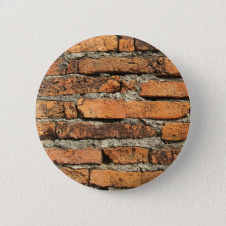 Ancient Brick Wall Pinback Button