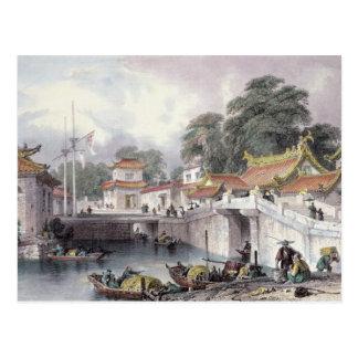 Ancient Bridge over the River at Chapro, c.1850 (c Postcard