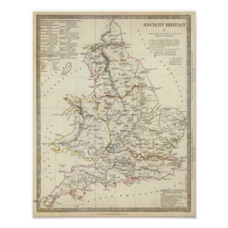 Ancient Britain I Poster