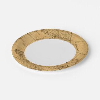 Ancient Britain Paper Plate