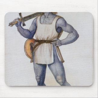 Ancient British Man Mouse Pad