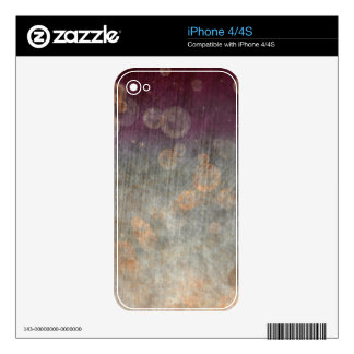 Ancient Bubbles iPhone 4S Skins