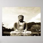 Ancient Buddha Poster