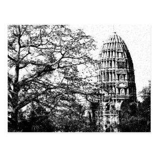 Ancient Buddhist Temple Postcard