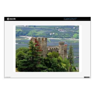 Ancient castle in Europe, Merano Laptop Decals