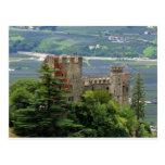 Ancient castle in Europe, Merano Postcard