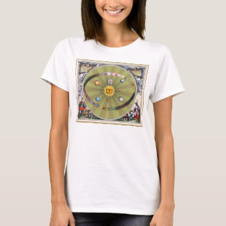 Ancient Celestial Spheres: Sun and Planets T-Shirt