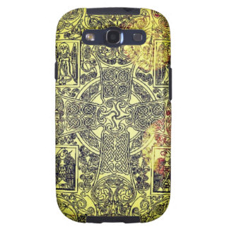 Ancient Celtic Ornament in Gold, Red, and Black Galaxy S3 Cover