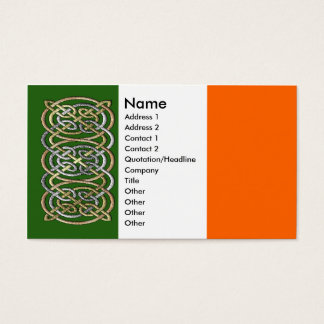 Ancient Celtic Rings Business Cards