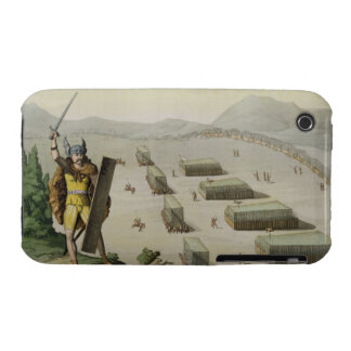 Ancient Celts or Gauls in Battle, c.1800-18 (colou iPhone 3 Cover