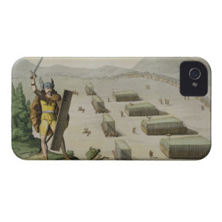 Ancient Celts or Gauls in Battle, c.1800-18 (colou iPhone 4 Cover
