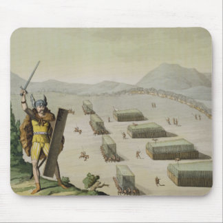 Ancient Celts or Gauls in Battle, c.1800-18 (colou Mouse Pad
