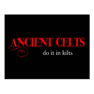 Ancient Celts Postcard