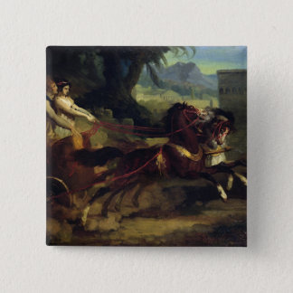Ancient Chariot Race Pinback Button