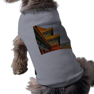 Ancient Chinese Architecture Confucius Quote Gift Dog Clothes