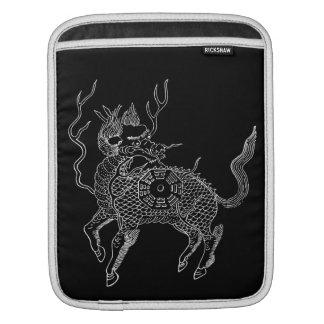 Ancient chinese auspicious dragon horse Lung Ma iPad Sleeve