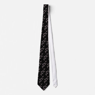 Ancient Chinese Dragon Tie in Black