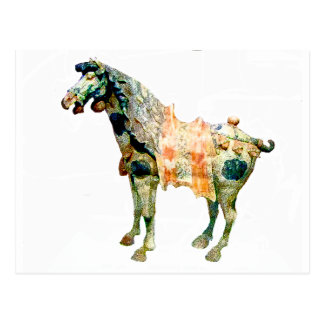 Ancient Chinese Horse gifts & greetings Postcard