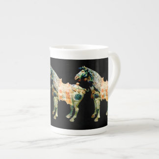 Ancient Chinese Horse Tea Cup