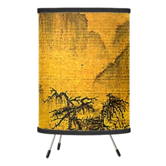 Ancient Chinese Landscape Lamp