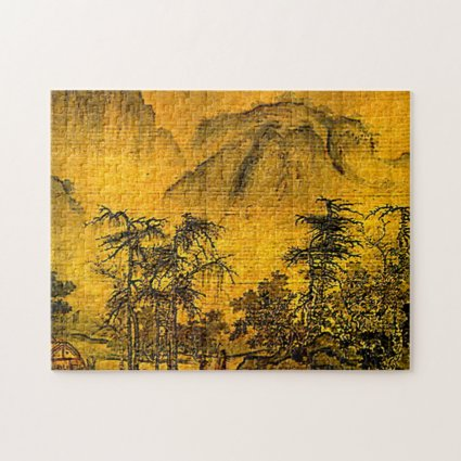 Ancient Chinese Landscape Painting Puzzle