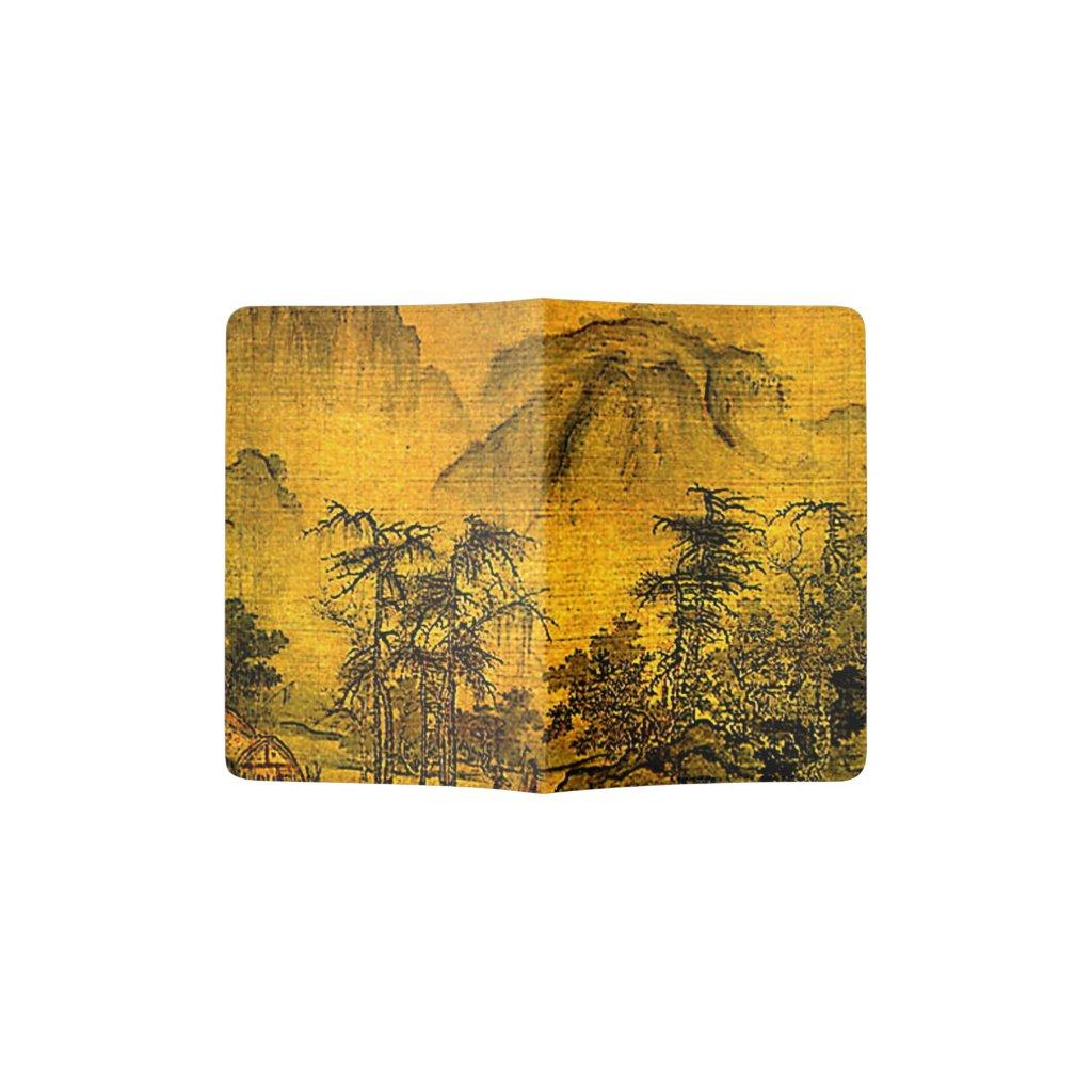 Ancient Chinese Landscape Passport Holder