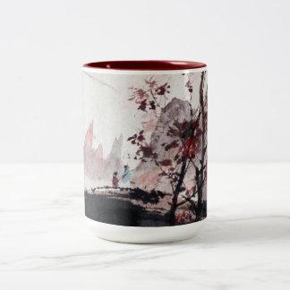 Ancient Chinese Painting Tea/Coffee Mug