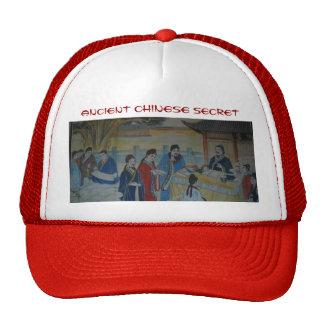 ancient Chinese secret hat