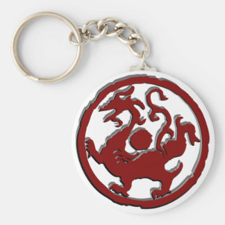 Ancient Chinese symbol : Dragon Keychain