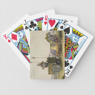 Ancient Chinese War Chariot, from 'Le Costume Anci Bicycle Playing Cards