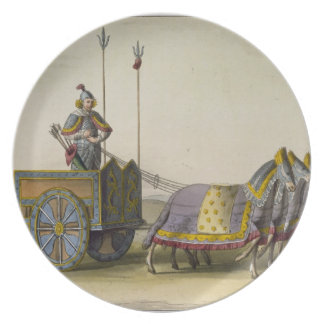 Ancient Chinese War Chariot, from 'Le Costume Anci Plates