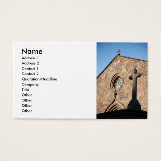 Ancient church business card