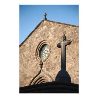 Ancient church photo print