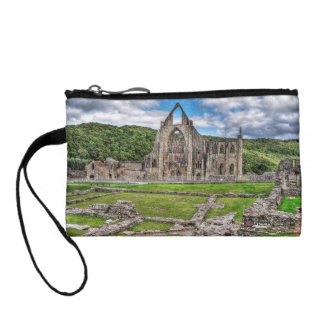 Ancient Cistercian Tintern Abbey Wales, UK Coin Wallet