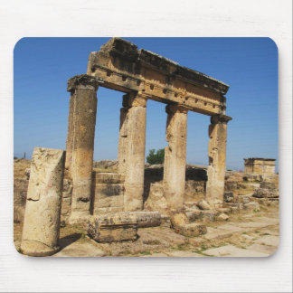 Ancient City Of Hierapolis -  a pagan cult center Mouse Pad