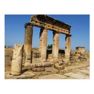Ancient City Of Hierapolis -  a pagan cult center Postcard