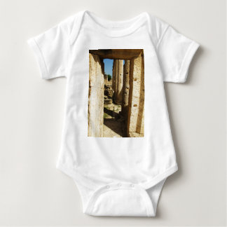 Ancient city of Hierapolis in Turkey Baby Bodysuit